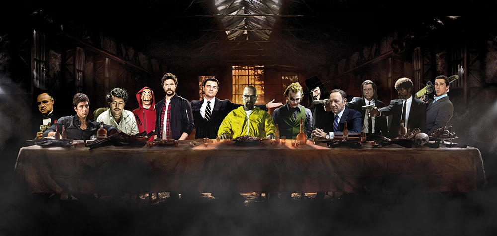 The Criminal Last Supper